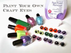 Niccupp Crochet: How to Make Any Color of Animal Eyes