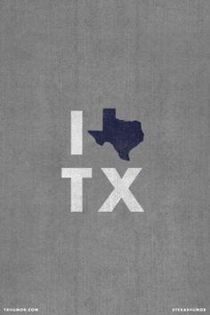 It's no secret that I love Texas <3