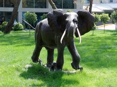 Elephant Garden Sculpture Garden Statues Are An Extension Of Your  Personality In Your Garden! Click