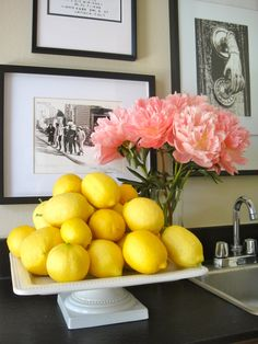 Can never say no to fresh lemons from Mom's tree...