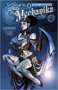 Lady Mechanika # 0 - Variant Cover Art by Joe Benitez & Peter Steigerwald Steampunk Kunst, Steampunk Book, Mode Steampunk, Steampunk Fashion, Gothic Fashion, Lady Mechanika, Arte Dc Comics, Bd Comics, Comics Girls