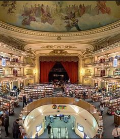 The Ateneo Grand Splendid, Argentina's largest bookstore, Buenos Aires
