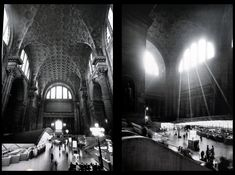 NYC's Penn Station (before the demolition, naturally)