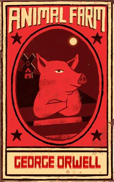 Animal Farm | Illustrator: Paul Thurlby - http://www.paulthurlby.com