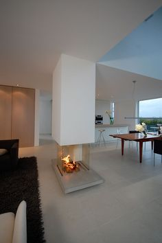 Bünck Architektur :: köln lövenich - New Ideas Interior Exterior, Interior Architecture, Interior Design, Japanese Home Decor, Fireplace Design, My Dream Home, Home Accessories, Bedroom Decor, New Homes