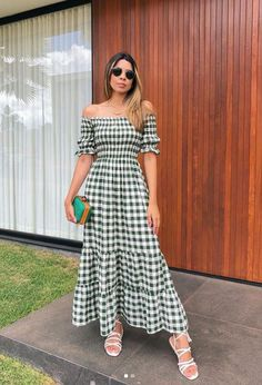 Stylish Dresses, Simple Dresses, Cute Dresses, Casual Dresses, Summer Dresses, Kpop Fashion Outfits, Girls Fashion Clothes, Clothes For Women, Look Fashion