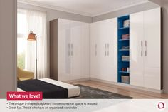 Get yourself a practical hinged wardrobe that is easy to use and comes in a variety of storage options, colours and finishes. Take a look at these designs! Wardrobe Design, Wardrobes, Locker Storage, Bedroom Decor, Colours, Traditional, Interior, House, Furniture