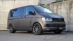 VW T6 Multivan 20 Zoll VFS 1 KW Fahrwerk 1 photo Volkswagen Transporter, Volkswagen Bus, Vw Camper, Campers, Vw Caravelle, Vw T5 Tuning, Combi Wv, Vehicle Signage, General Motors