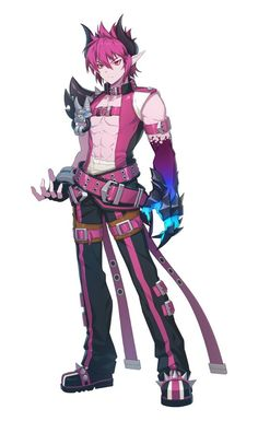 Grand Chase for kakao Dio Game Character, Character Concept, Concept Art, Fantasy Characters, Anime Characters, Pixiv Fantasia, Chibi, Fantasy Character Design, Elsword