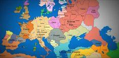 유럽 1000년 역사를 \'타임랩스\' 동영상으로 http://i.wik.im/69032