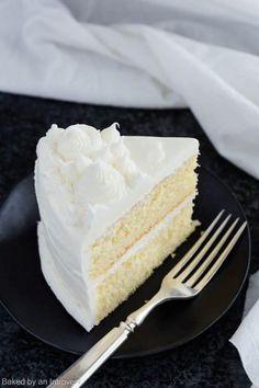 Basic Vanilla Cake Recipe   Cake   Easy   Dessert   Made from Scratch   Homemade