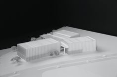 Pompidou Center to Open Gallery in Shanghai, Designed by David Chipperfield Architects,Courtesy of DCA