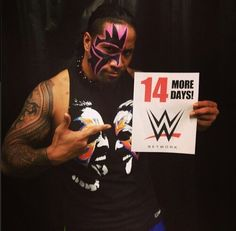 Jey uso saying 14 more days