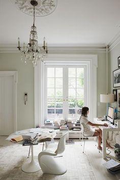 Lugar de trabajo......luminosidad y calma