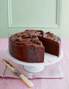 This is the ultimate chocolate mud cake recipe. Enjoy it as a dessert or have a sliver with a cup of tea.