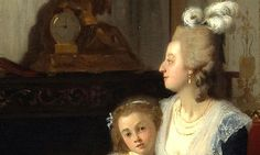 Madame Royale with her mother Marie Antoinette