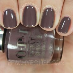 OPI You Don't Know Jacques! | Infinite Shine Iconic Collection | Peachy Polish