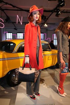 Kate Spade RTW Fall 2013 Rich Girl, Get Dressed, Cold Weather, Runway Fashion, Catwalk, Ready To Wear, Fall Winter, Kate Spade, Vogue