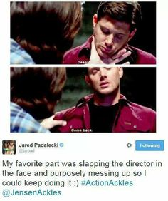 Oh Jared... Legit this cast and their relationships with each other will be the death of me