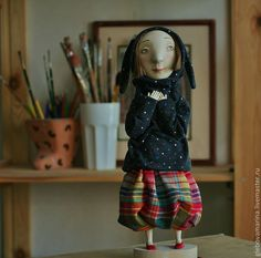Hare-girl by Marina Glebova