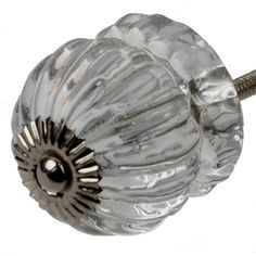 @Overstock - GlideRite Glass Clear Grooved Cabinet Knob (Pack of 10) - These unique molded glass cabinet knobs from India are the perfect upgrade to your kitchen or bathroom cabinets. Without the hefty price tag, these knobs will bring a fresh new look to your kitchen or bathroom.  http://www.overstock.com/Home-Garden/GlideRite-Glass-Clear-Grooved-Cabinet-Knob-Pack-of-10/9427660/product.html?CID=214117 $42.49