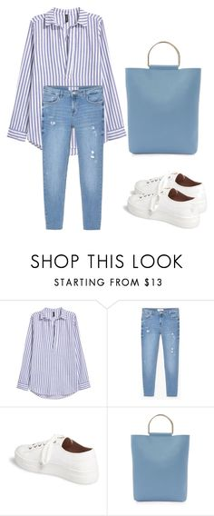 """Back to school Outfit"" by nash-styles ❤ liked on Polyvore featuring MANGO and Topshop"