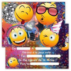 Pre-Cut Emoji LOVE COEUR KISS Comestible Cupcake Toppers Anniversaire Décorations de fête