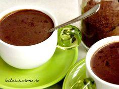 ciocolata calda de casa Frappe, Sweet Memories, Italian Recipes, Food And Drink, Pudding, Yummy Food, Coffee, Drinks, Breakfast