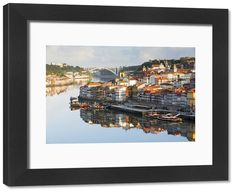Print of Portugal, Douro Litoral, Porto. An early morning view of the UNESCO World Heritage Morning View, Early Morning, Framed Prints, Canvas Prints, Douro, Photo Gifts, Portugal, Australia, Wall Art