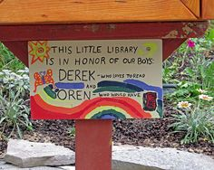 Memorial Little Free Library
