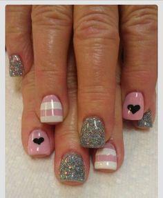 heart nail art – 70 Heart Nail Designs ♥ ♥ Previous Post Next Post Fancy Nails, Love Nails, Trendy Nails, How To Do Nails, Heart Nail Art, Heart Nails, Heart Nail Designs, Nail Art Designs, Nails Design