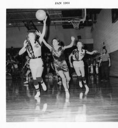My mother played Iowa Girls' 6 on 6 half-court basketball in high school in the '40s. I also played it at Jr High BB camp in the late '70s. Iowa formally ended this style of play in 1993/94. :(