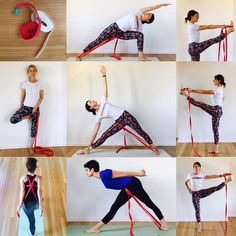 iyengar yoga belt strap work standing poses