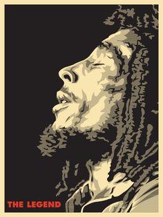 Bob Marley by Joshua Budich                                                                                                                                                                                 Más