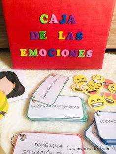 Yoga For Kids, Diy For Kids, Learning Activities, Activities For Kids, Calm Box, Teaching The Alphabet, Feelings And Emotions, Teacher Tools, Teaching English
