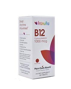 Frunutta Vitamin B12 Cyanocobalamin 1000 mcg Under the To... https://www.amazon.com/dp/B075M6M3KS/ref=cm_sw_r_pi_dp_U_x_wZURAb23E0S38
