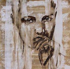 "Saatchi Art Artist Donatella Marraoni; Painting, ""Can we talk?"" #art"