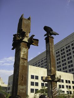 9-11 Beams-dedication and unveiling in Downtown Indianapolis, IN