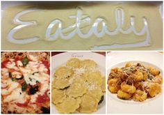 eat family dinner at eataly nyc | LiveDoGrow = like an Italian Whole Foods, Rome, Florence, NYC, etc