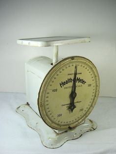 Vintage Kitchen SCALE Creamy White & Rustic Works Great!  by LavenderGardenCottag