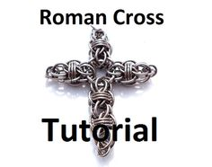 Tutorial for Roman Cross by BrilliantSkulls on Etsy