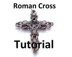 Tutorial for Roman Cross por BrilliantSkulls en Etsy