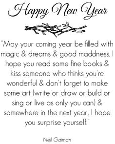 Happy New Year! #quote #inspiration