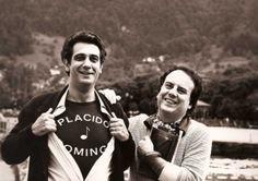 Placido Domingo. Bregenz, 1984