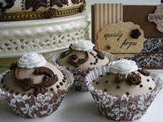 Baroque cupcakes | Flickr - Photo Sharing!