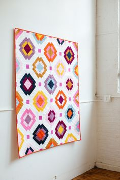 Radiate Quilt Pattern - PDF – Then Came June Quilting For Beginners, Quilting Tutorials, Quilting Projects, Beginner Quilting, Quilting Ideas, Sewing Projects, Patchwork Quilt Patterns, Modern Quilt Patterns, Quilting Fabric