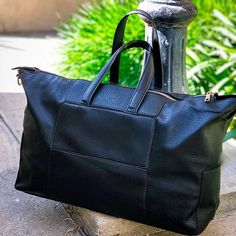 d104e926f7d7 Sole Society Cory black weekender bag via  courtneyblacher Weekender