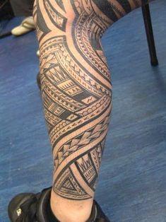 That's a mean az Leg Tattoo - Samoan' Tattoo patterns, so that makes it even more beautiful. #filipinotattoosmeaning #TattooIdeasMale #samoantattoosleg