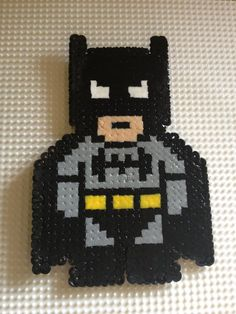 Perler Beads Batman Logo Perler dc on pinterest