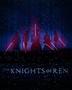 Art Awakens Contest: The Knights of Ren#starwars #theforceawakens #kyloren #forceawakens #theknightsofren - Troy David Millhoupt